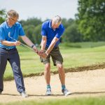 Golf Players at Merrist Wood Golf Club