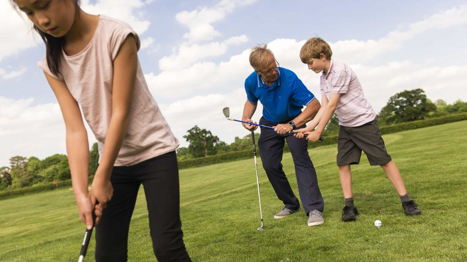 Kids Golf Surrey Merrist Wood Golf Club 5024x3354