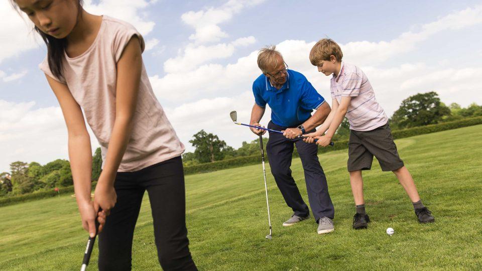 Kids Golf Surrey Merrist Wood Golf Club 5024x3354